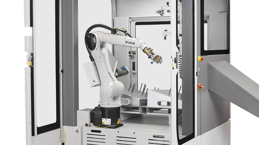 Convenient offline programming: Users create all their bending jobs offline using the Robot Manager software.