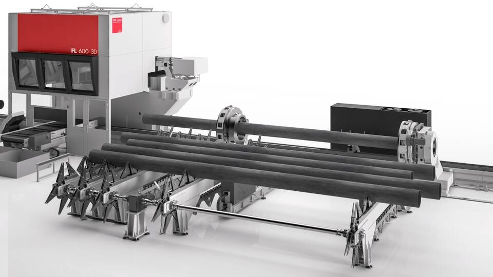 Automatic chain unloading system