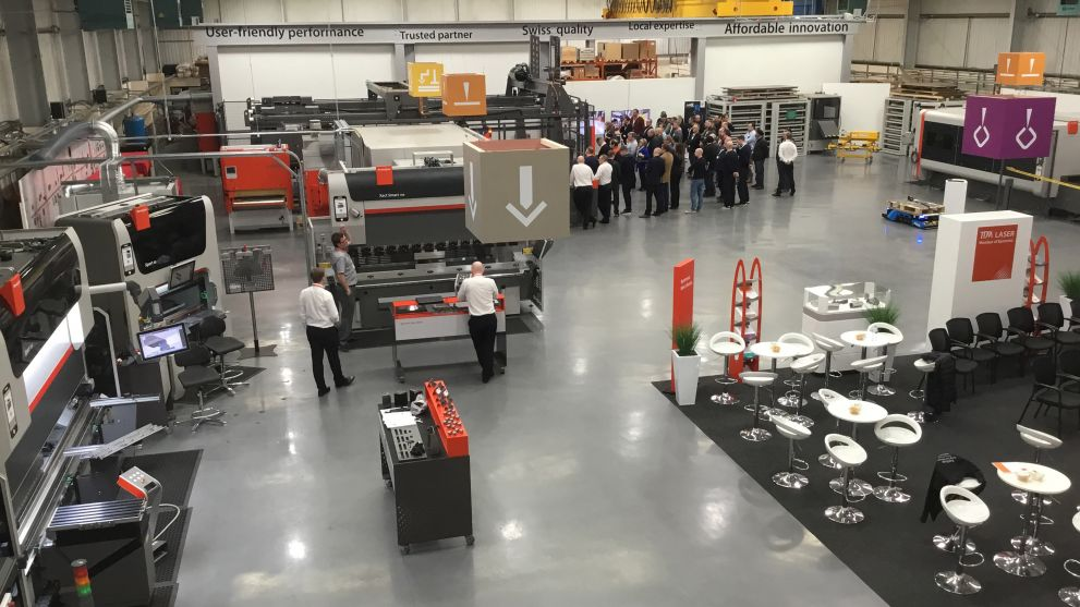 Bystronic's Smart Factory Open House a success